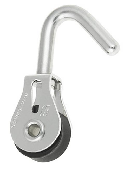 RF15180 Ronstan Series 15 Swivel Hook Head Block