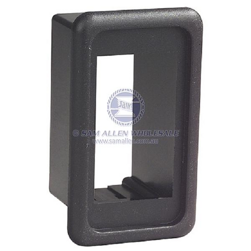 Black 1 'V' Switch Mount Panel