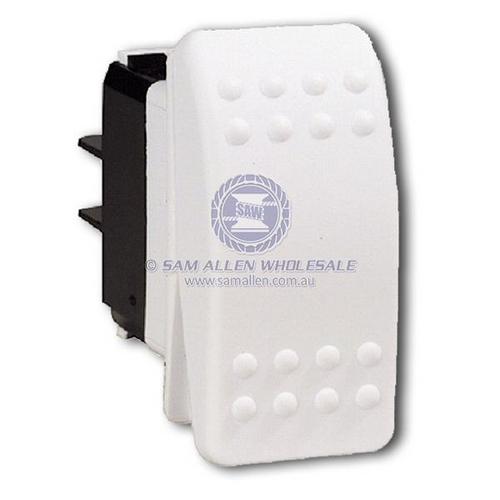 Switch C2 White 24V 15Amp On/Off Rocker Switch