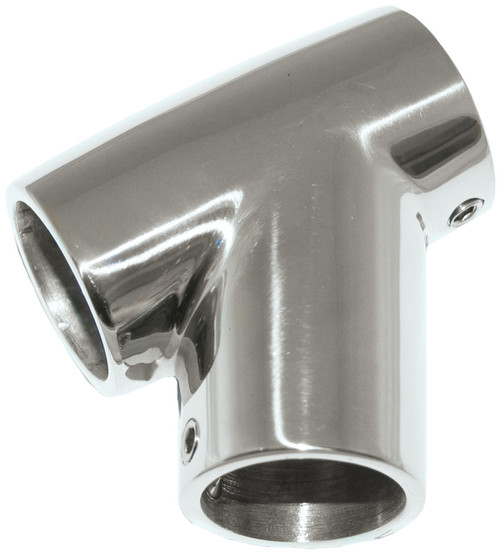 Stainless Steel 60 Degree 22mm Tee Rail Fitting