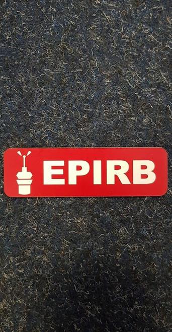Label 'EPIRB'