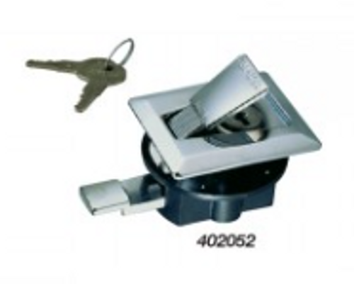 Perko Flush Latch Set with Key Lock