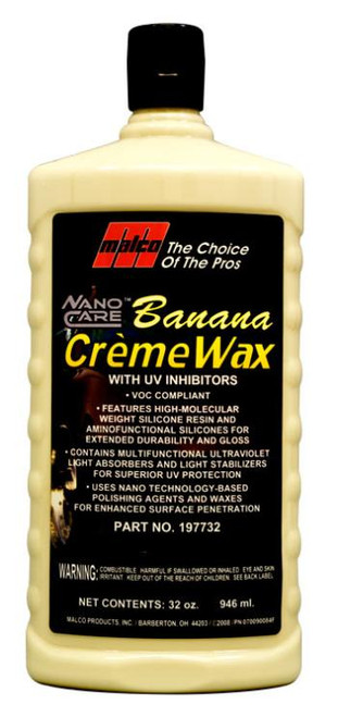 Malco Nano Banana Wax 946ml