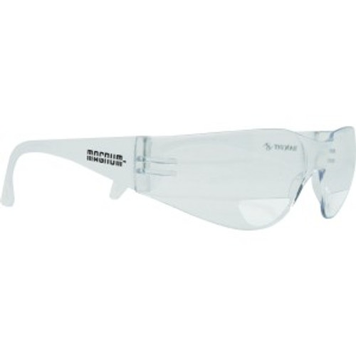 Safety Glasses with 1.50 Readers Clear Frame
