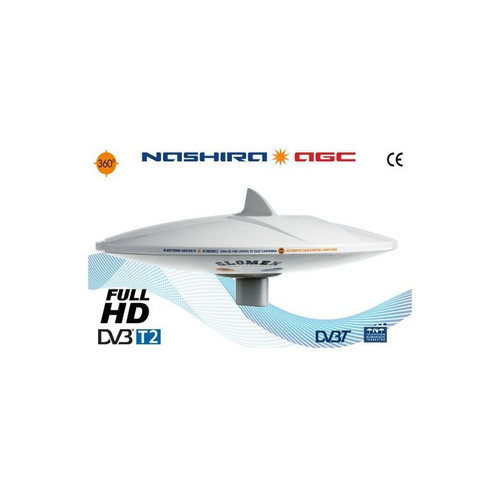 Glomex 'Nashira AGC' 370mm TV Antenna