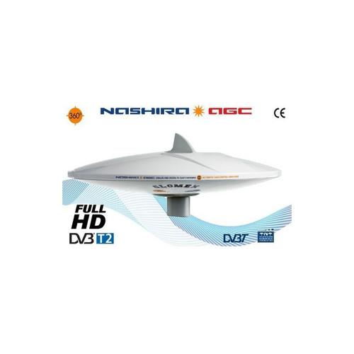 Glomex 'Nashira AGC' 370mm TV Antenna