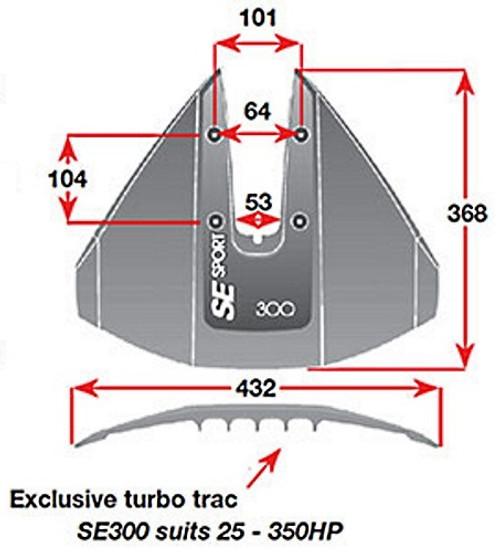 Hydrofoil SE Sport 300 Black