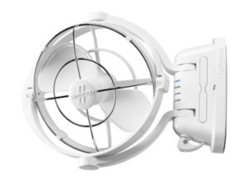 Fan - Sirocco 12 & 24volt - White