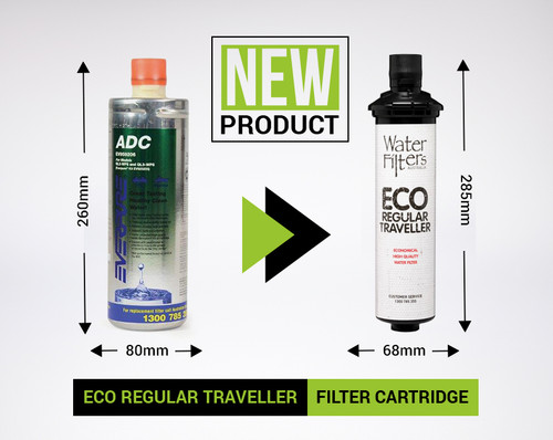 Water Filter - Eco Regular Traveller Cartridge
