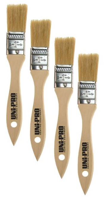 25mm Natural Bristle Brushes Box 12