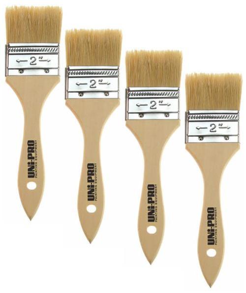 50mm Natural Bristle Brushes Box 12