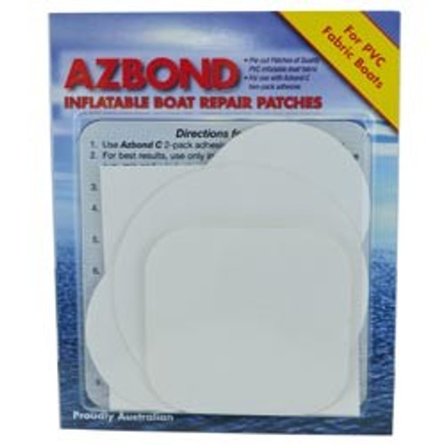 Inflatable PVC Patch Kit - White