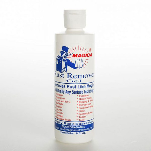 Magica Rust Remover Gel 8oz