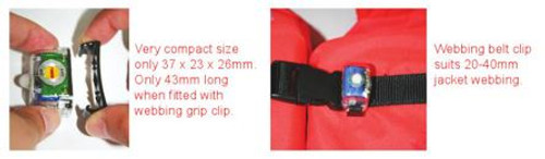 Lifejacket Light LED SOLAS Approved