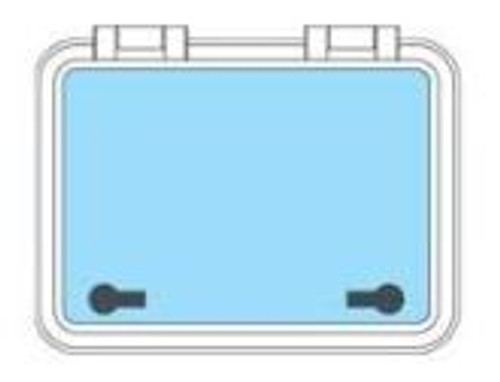 GEBO Hatch Flushline 500mm x 370mm