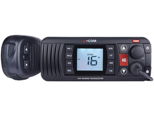GME VHF Radio - Black