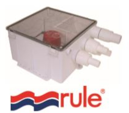 RULE Shower Sump Drain Kit 12v 1100GPH