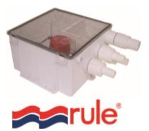 RULE Shower Sump Drain Kit 12v 1100GPH