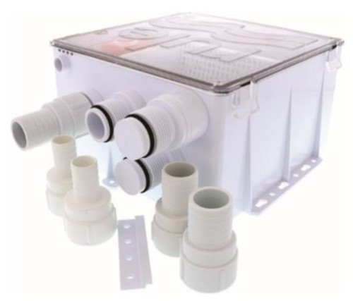 RULE Shower Sump Drain Kit 24v 1100GPH