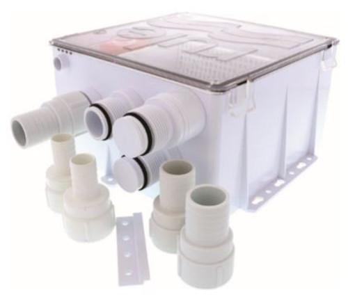 RULE Shower Sump Drain Kit 24v 1100GPH