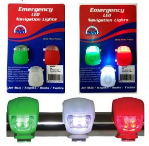 3 x LED Emergency Nav Lights
