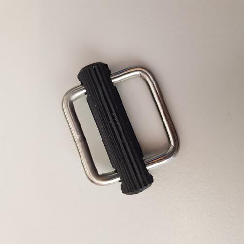 Sliding Bar Adjuster 25mm Stainless Steel