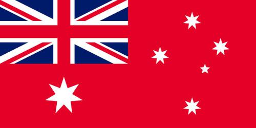 Australian Flag - Red Ensign 1370mm x 685mm Woven