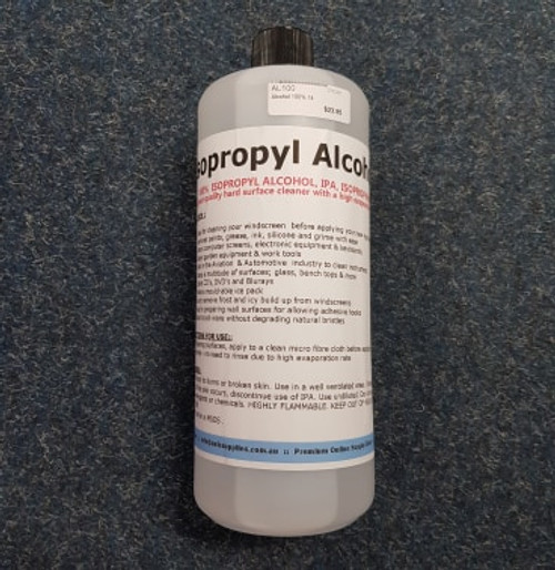 Isopropyl Alcohol 100% 1litre