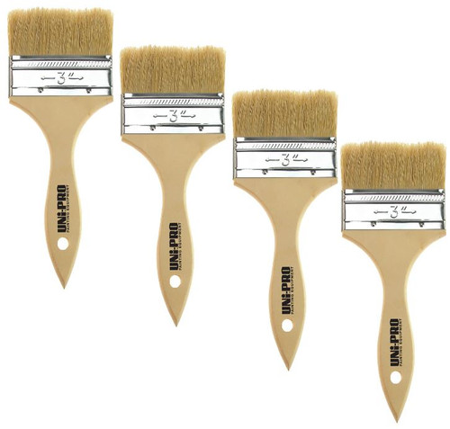 Brush Natural Bristle 100mm Box 12