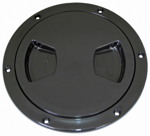 Inspect Port -125mm Black