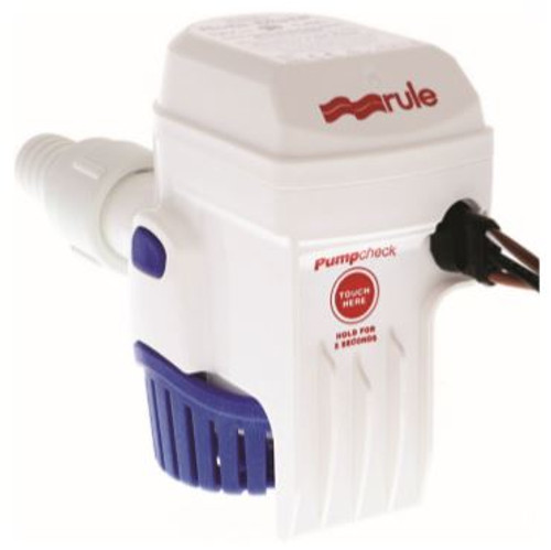Rule-Mate Automatic 500 GPH Bilge Pump 12v