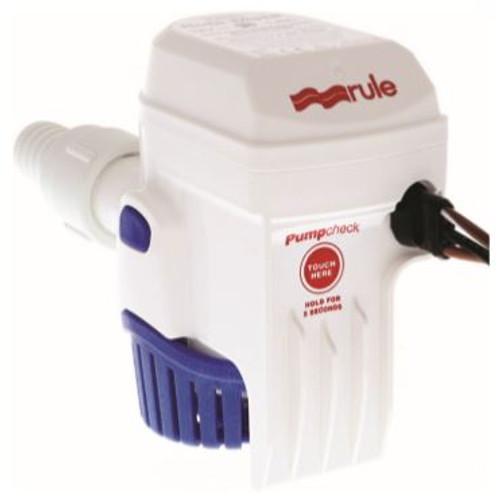 Rule-Mate Automatic 500 GPH Bilge Pump 12v