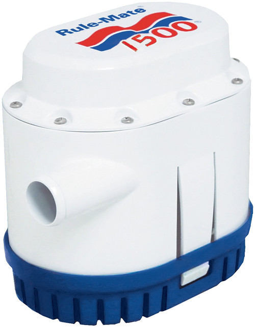 Rule-Mate Automatic 1500 GPH Bilge Pump 12v