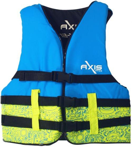 Child Jet Ski Lifejacket - Colours/patterns may vary.