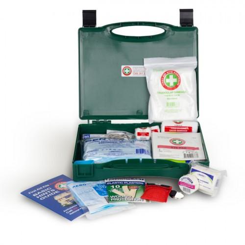 First Aid Kit - Small Green Box
