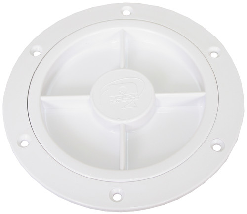 Port Lid Only -100mm Wht