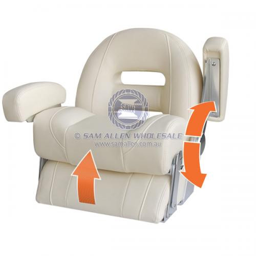 Helm Chair - Cruiser Series Low Back - Ivory
