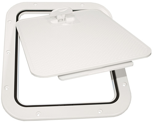Nuova Rade Hatch-Removable Lid White