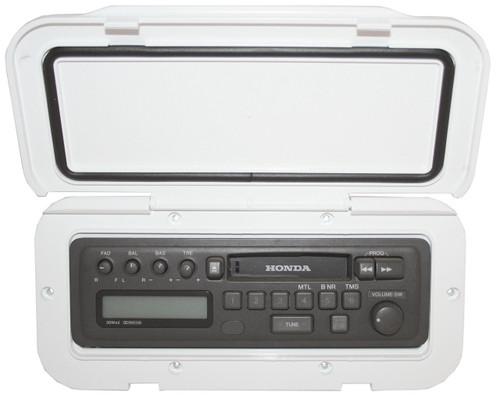 CD/Radio WProof Hatch White