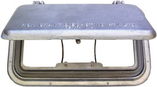Scupper -Plain alloy Lge