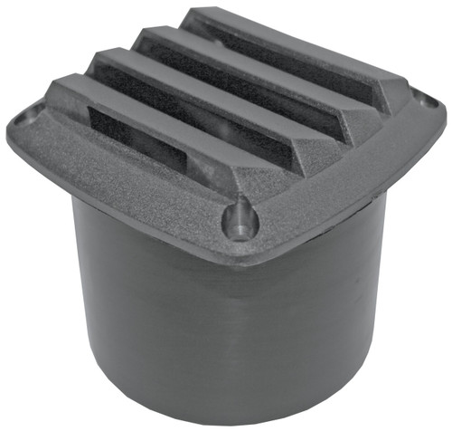 Vent -Black Nyl 75mm Hose