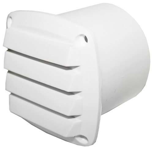 Vent -White Nyl 75mm Hose