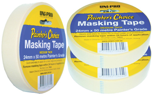 Masking Tape 24mm x 50Mtr