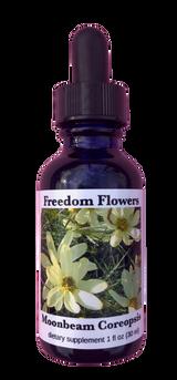 Moonbeam Coreopsis Flower Essence bottle