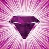 Graphic from bottle label: Illustration of Amethyst Divine Gem