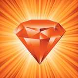 Graphic from bottle label: Illustration of a Carnelian Divine Gem