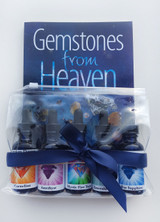 Image of Gemstones from Heaven book and Divine Gemstones Essence Kit