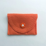 Orange with orange button