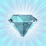 Graphic from bottle label: Illustration of Ice Stone Divine Gem