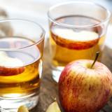 Image of apples in vinegar